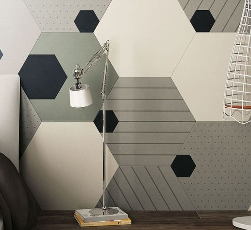 86ea2229833e573f30102ecc8257cc99 Hexagon Shape Tile Design