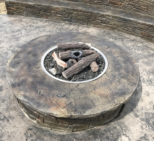 Outdoor Fire Pit Circle