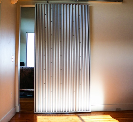37f38f62ba24c1041808f0bcf778bb92 Interior Sliding Doors Corrugated Metal